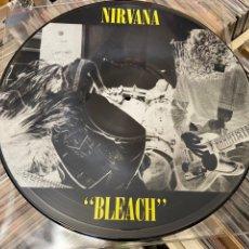 Discos de vinilo: NIRVANA BLEACH PICTURE LP DISCO DE VINILO. Lote 285396823
