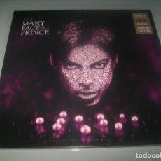 Disques de vinyle: PRINCE - THE MANY FACES OF ..2 LP´S DE COLOR VINYL LIMITED EDITION 2019 - NUEVO PRECINTADO. Lote 285397928