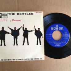 Disques de vinyle: THE BEATLES HELP SOCORRO EMI ODEON EP VINILO ORIGINAL ESPAÑOL 1965 PERFECTO ESTADO SIN USO. Lote 285398573