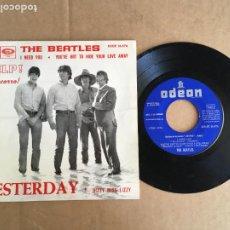 Disques de vinyle: THE BEATLES HELP YESTERDAY EMI ODEON EP VINILO ORIGINAL ESPAÑOL 1965 PERFECTO ESTADO SIN USO. Lote 285398748