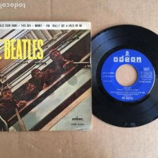 Disques de vinyle: THE BEATLES I WANT TO HOLD YOUR HAND EMI ODEON EP VINILO ORIGINAL ESPAÑOL 1964. Lote 285399463
