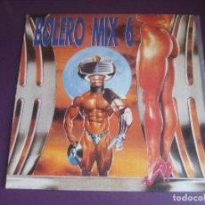 Dischi in vinile: BOLERO MIX 6 - LP BLANCO Y NEGRO 1990 - ELECTRONICA - HOUSE TECHNO - LEVE USO. Lote 285448043