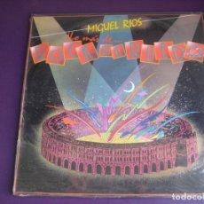Disques de vinyle: MIGUEL RÍOS – LO MAS DE... ROCK EN EL RUEDO - LP POLYDOR 1985 - DIRIA Q SIN ESTRENAR. Lote 285451068