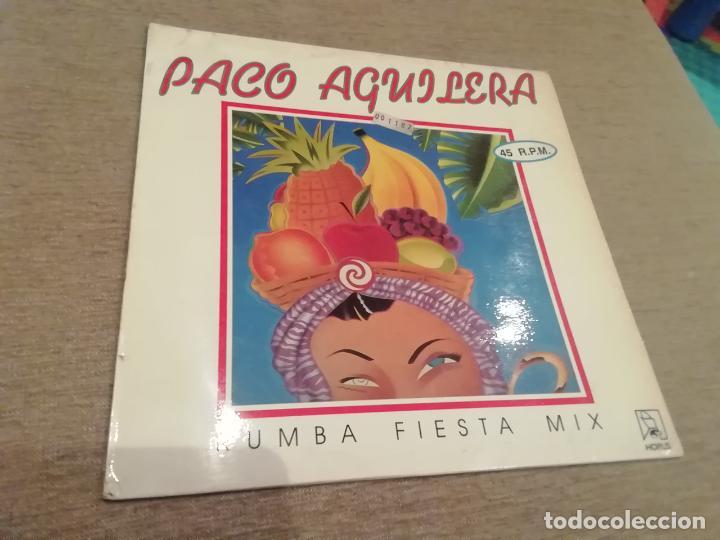 PACO AGUILERA-RUMBA FIESTA MIX. MAXI (Música - Discos de Vinilo - Maxi Singles - Solistas Españoles de los 70 a la actualidad)