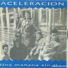 Discos de vinilo: ACELERACION / UNA MAÑANA SIN TI / TRAICIONADO BLUES / CALDEDONIA + 1 (EP CAMBAYA 1991). Lote 285510548