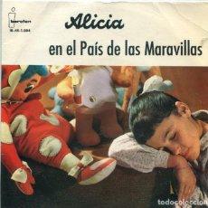Discos de vinilo: ALICIA EN EL PAIS DE LAS MARAVILLAS (TEATRO INVISIBLE DE RNE DE BARCELONA) EP IBEROFON 1961). Lote 285514963
