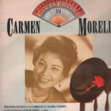 Discos de vinilo: CARMEN MORELL - ANTOLOGIA DE LA CANCION ESPAÑOLA 24 / LP EMI 1990 / MUY BUEN ESTADO RF-10189. Lote 285519848