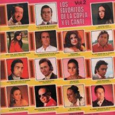 Discos de vinilo: LOS FAVORITOS DE LA COPLA Y EL CANTE VOL. 2 / LP BELTER DE 1975 / MUY BUEN ESTADO RF-10191. Lote 285520143
