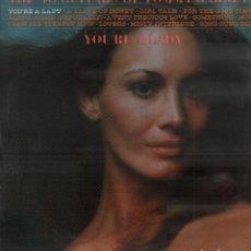Discos de vinilo: THE 50 GUITARS OF TOMMY GARRETT - YOU'RE A LADY / LP ALBUM UHR / BUEN ESTADO RF-10195. Lote 285522863