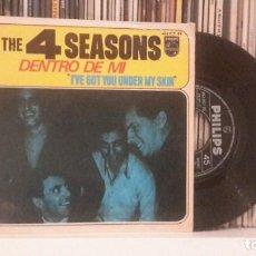 Discos de vinilo: FOUR SEASONS - DENTRO DE MI. Lote 285524228