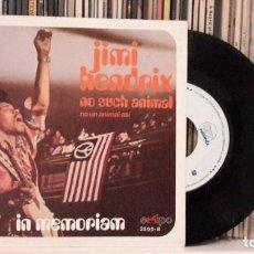 Discos de vinilo: JIMI HENDRIX - NO SUCH ANIMAL. Lote 285525908