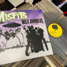 Discos de vinilo: THE MISFITS WALK AMONG US LP DISCO DE VINILO. Lote 285532678