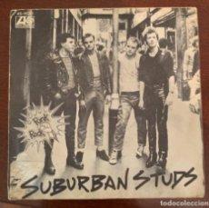"""Disques de vinyle: SUBURBAN STUDS """"NO FAITH/QUESTIONS"""" SPANISH RELEASE 1977 PUNK ROCK PROMO. Lote 285544333"""