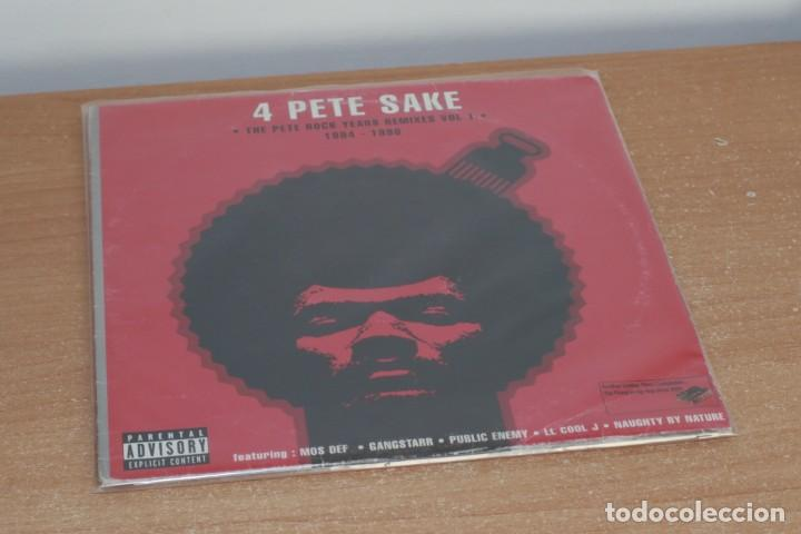PETE ROCK - 4 PETE SAKE: THE PETE ROCK YEARS REMIXES VOL. 1 - USA - 2003 - VG/VG+ (Música - Discos - LP Vinilo - Rap / Hip Hop)