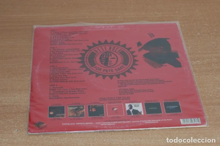 Discos de vinilo: PETE ROCK - 4 PETE SAKE: THE PETE ROCK YEARS REMIXES VOL. 1 - USA - 2003 - VG/VG+ - Foto 2 - 285607088