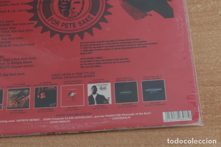 Discos de vinilo: PETE ROCK - 4 PETE SAKE: THE PETE ROCK YEARS REMIXES VOL. 1 - USA - 2003 - VG/VG+ - Foto 3 - 285607088