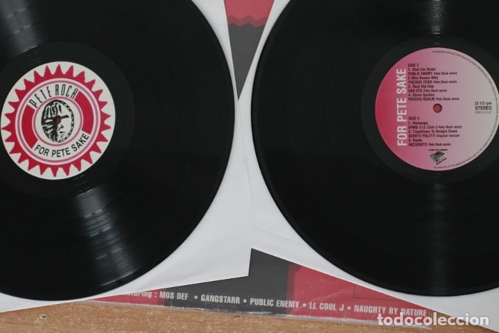 Discos de vinilo: PETE ROCK - 4 PETE SAKE: THE PETE ROCK YEARS REMIXES VOL. 1 - USA - 2003 - VG/VG+ - Foto 5 - 285607088