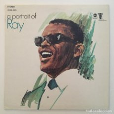 Discos de vinilo: RAY CHARLES – A PORTRAIT OF RAY, US 1968 ABC RECORDS. Lote 285637938