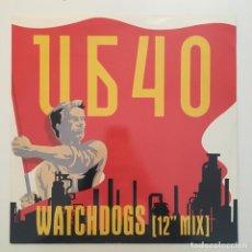 Discos de vinilo: UB40 – WATCHDOGS, UK 1987 DEP INTERNATIONAL. Lote 285639813