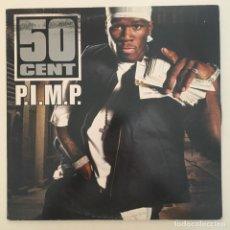 Discos de vinilo: 50 CENT – P.I.M.P., PROMO, EUROPE 2003 SHADY RECORDS. Lote 285640058