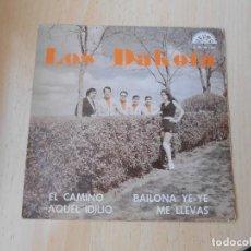 Disques de vinyle: DAKOTA, LOS - ORQUESTA: LOS GEMINIS, EP, EL CAMINO + 3, AÑO 1973. Lote 285667883