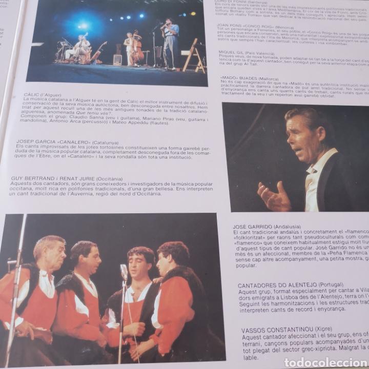 Discos de vinilo: VI FESTIVAL MÚSICA POPULAR VINALOVA I LA GELTRÚ 2LPS - Foto 4 - 285668888