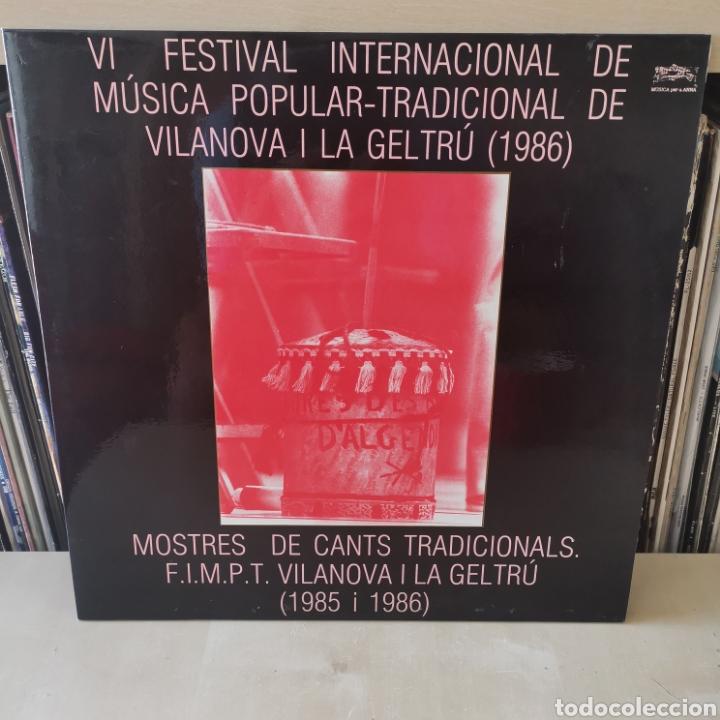 VI FESTIVAL MÚSICA POPULAR VINALOVA I LA GELTRÚ 2LPS (Música - Discos - LP Vinilo - Otros Festivales de la Canción)
