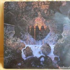 Discos de vinilo: ENTOMBED. CLANDESTINE. LP EARACHE RECORDS. ENGLAND. 1991. EDICIÓN CON CUBIERTA EN RELIEVE. Lote 285766198