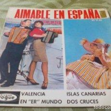 Discos de vinilo: SG. AMAIBLE EN ESPAÑA. Lote 285799538