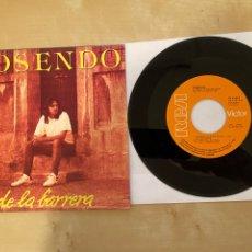 Discos de vinilo: ROSENDO - DESDE LA BARRERA - SINGLE VINILO 1987 -. Lote 285800933