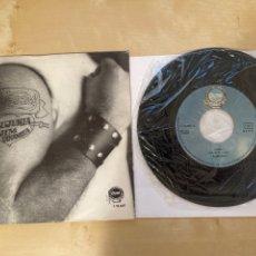 Discos de vinilo: BURNING - LUJURIA - SINGLE PROMO 1978 - SPAIN. Lote 285809393