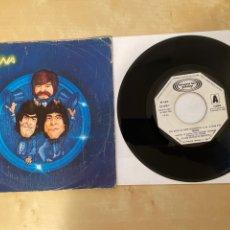 Discos de vinilo: TRIANA - UNA NOCHE DE AMOR DESESPERADA - SINGLE PROMO 1981 - SPAIN. Lote 285809988