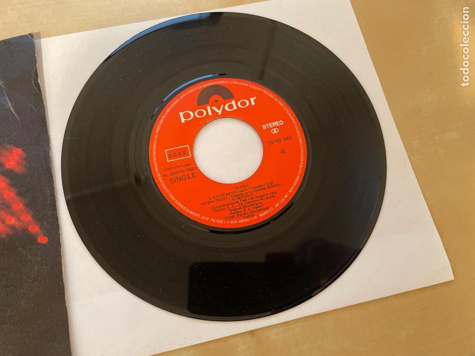 Discos de vinilo: Mama - Escondete - SINGLE 1981 - SPAIN - Foto 2 - 285810583