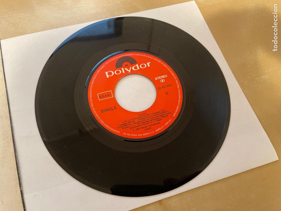 Discos de vinilo: Mama - Escondete - SINGLE 1981 - SPAIN - Foto 4 - 285810583