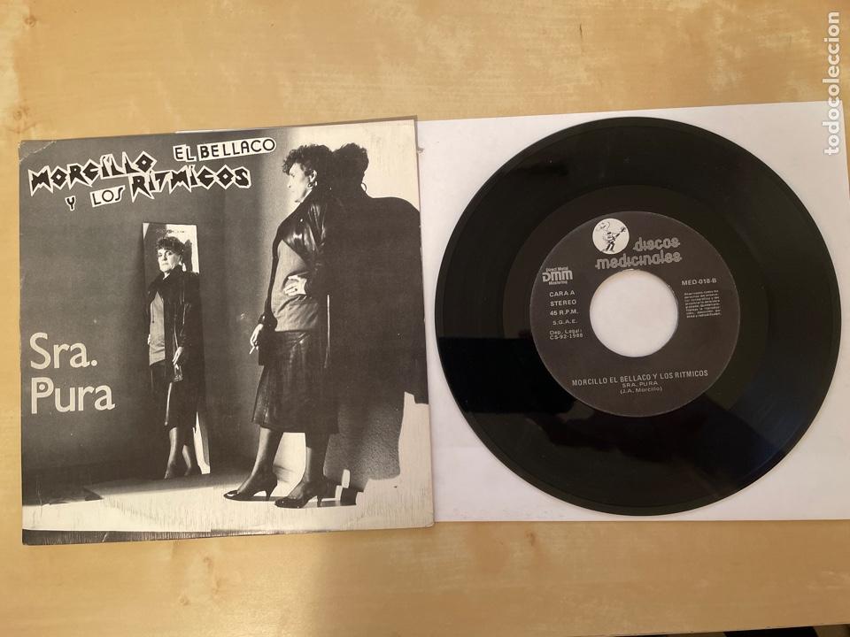 MORCILLO EL BELLACO - SRA PURA / ASI TE CONOCI - SINGLE 1988 - SPAIN (Música - Discos - Singles Vinilo - Grupos Españoles de los 70 y 80)
