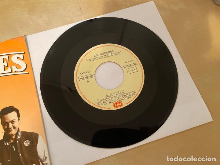 Discos de vinilo: Los Hurones - El Verano - SINGLE 1988 - SPAIN - Foto 2 - 285812063
