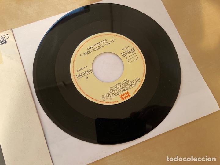 Discos de vinilo: Los Hurones - El Verano - SINGLE 1988 - SPAIN - Foto 4 - 285812063