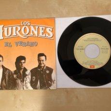 Discos de vinilo: LOS HURONES - EL VERANO - SINGLE 1988 - SPAIN. Lote 285812063