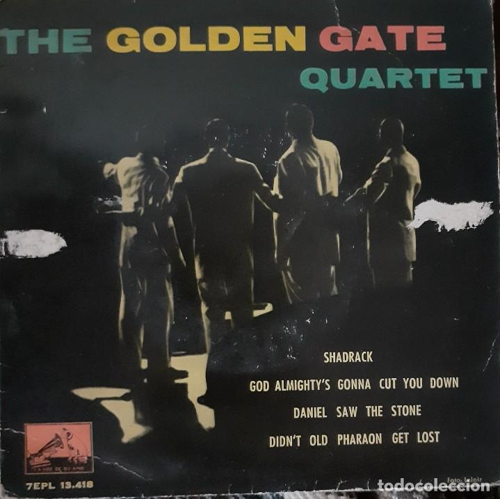 THE GOLDEN GATE QUARTET - SHADRACK + 3 EP (Música - Discos de Vinilo - EPs - Funk, Soul y Black Music)