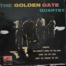 Discos de vinilo: THE GOLDEN GATE QUARTET - SHADRACK + 3 EP. Lote 285964228