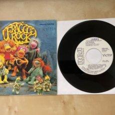 Discos de vinilo: FRAGGLE ROCK - VEN A FRAGGLE ROCK - SINGLE PROMO 1985 - SPAIN. Lote 285987128