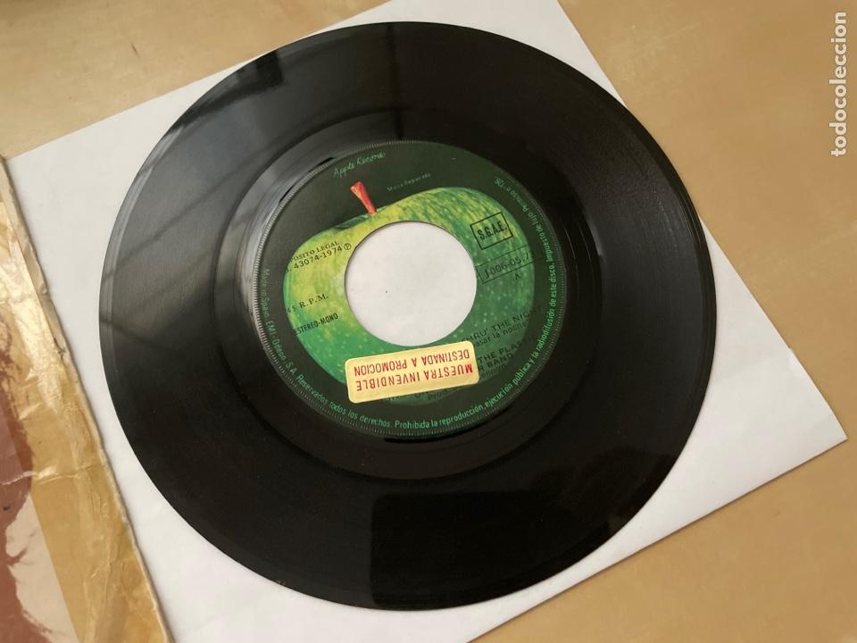 Discos de vinilo: John Lennon - Whatever Gets You Thru The Night - Single Promo 1974 - SPAIN - The Beatles - Foto 2 - 285999073