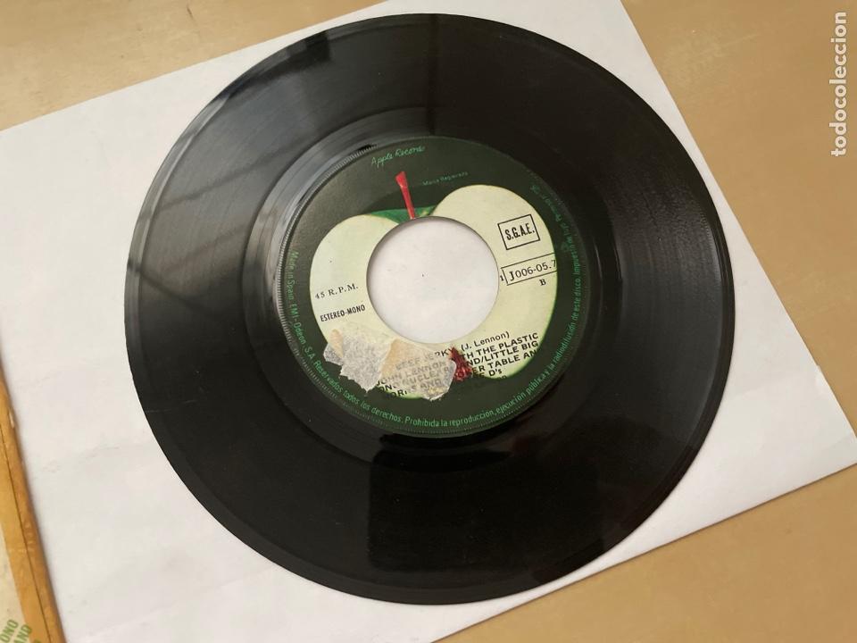 Discos de vinilo: John Lennon - Whatever Gets You Thru The Night - Single Promo 1974 - SPAIN - The Beatles - Foto 4 - 285999073