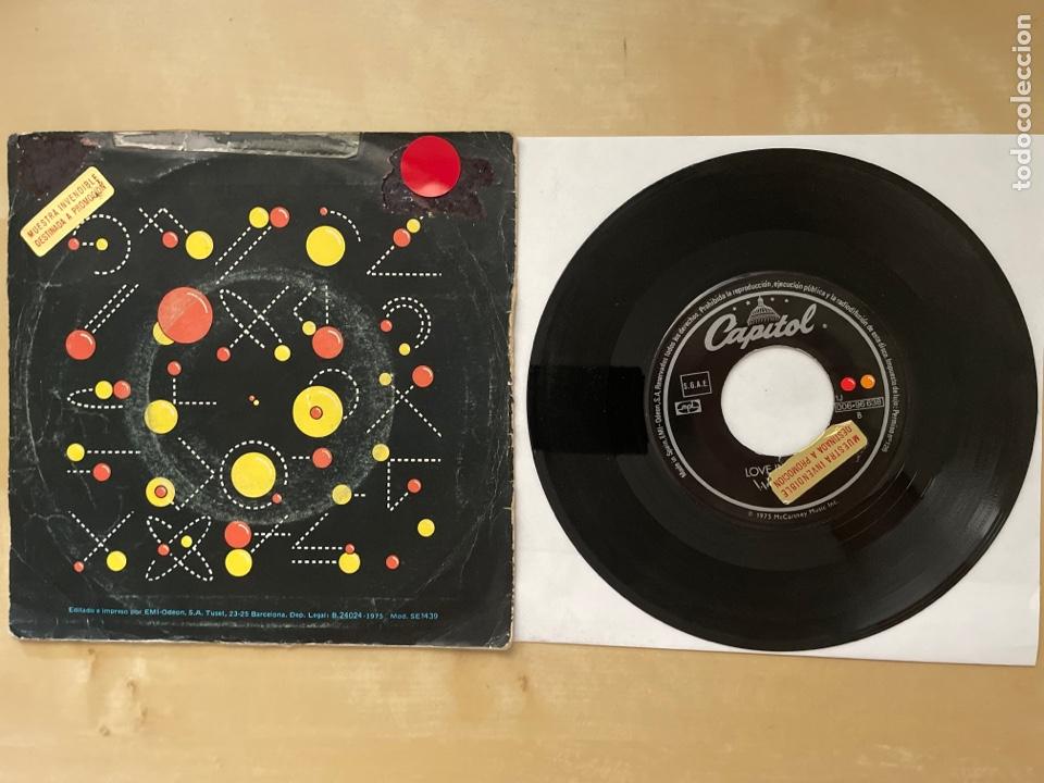 Discos de vinilo: Wings - Listen To What The Man Said - 1974 Single Promo - SPAIN - Foto 3 - 285999618