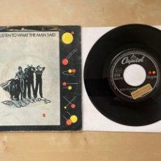 Discos de vinilo: WINGS - LISTEN TO WHAT THE MAN SAID - 1974 SINGLE PROMO - SPAIN. Lote 285999618