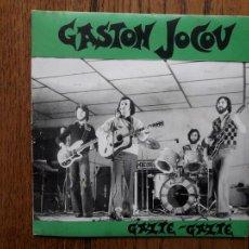 Disques de vinyle: GASTON JOCOU - GAZTE GAZTE + GITARRA JOLEA + EUSKARA + AUFA, AUFA. Lote 286000613