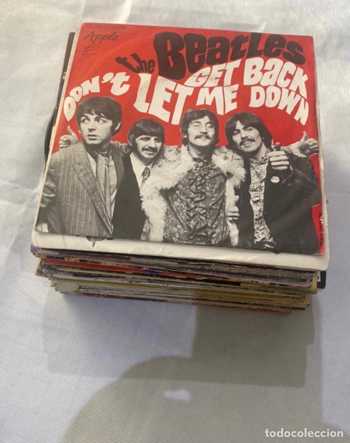 SÚPER LOTE DE 46 DISCOS VINILOS GRUPOS DE ROCK... VER FOTOS (Música - Discos - Singles Vinilo - Rock & Roll)