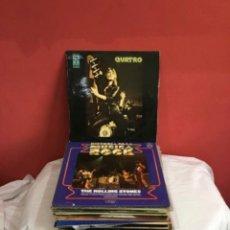 Discos de vinilo: LOTE DE 40 DISCOS DE MÚSICA ROCK ET OTROS JAZZ . VER FOTOS. Lote 286015368