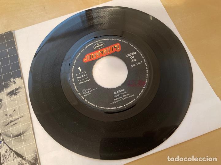 Discos de vinilo: Alarma - Lola / Perdido Una Vez Mas - Single 1984 - SPAIN - Foto 2 - 286053663