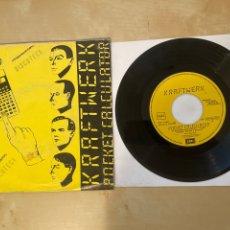 Discos de vinilo: KRAFTWERK - POCKET CALCULATOR - SINGLE PROMO 1981 - SPAIN. Lote 286055853